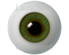 Glass Eyes 20mm Dark Green mouth blown
